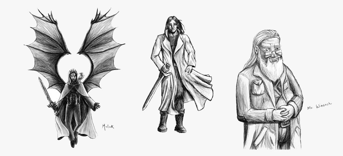 Character Design Graphic Novels : Counts web design portfolio
