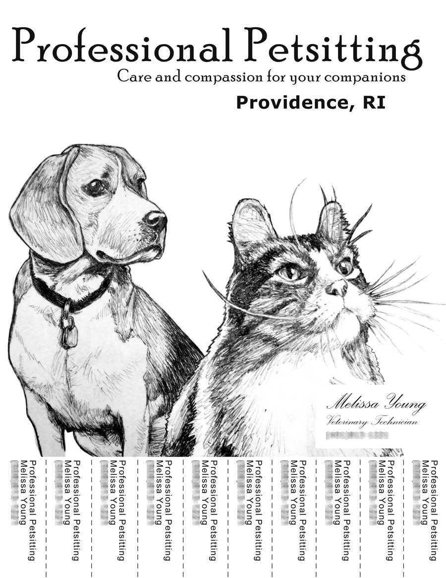 Petsitting Flyer