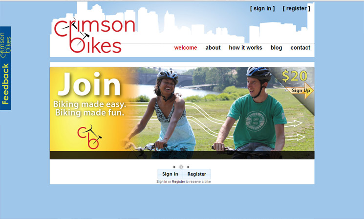 Crimson Bike's Old Homepage