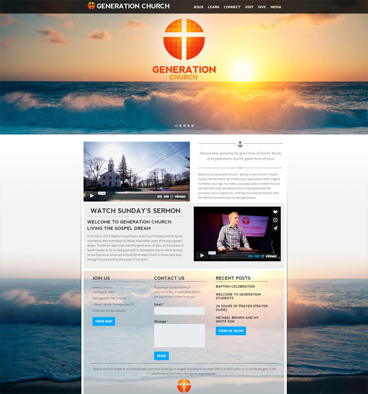 Generation Church's Homepage